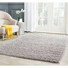 Light Gray Area Rug Safavieh Athens Shag Light Gray 6 Ft X 9 Ft Area Rug Sga119f 6