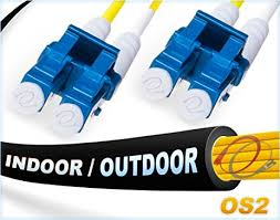 150 m to ft amazon com 150m os2 lc lc indoor outdoor fiber patch cable duplex