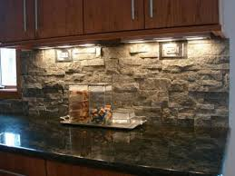 river rock kitchen backsplash great home decor unique with