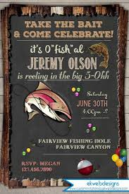 fishing birthday invitation invite 30th 40th 50th 60th