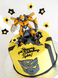 Transformers Bumblebee Cake CakeCentral