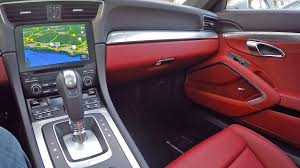 black porsche red interior bordeaux red leather interior on the 991 2 911 youtube