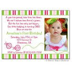 birthday invitation messages for one year old best 25 1st birthday
