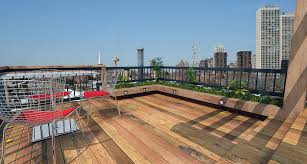 rooftop deck on pitched roof interiors design