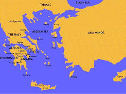 blank map of ancient greece ionia ancient greece map greece map