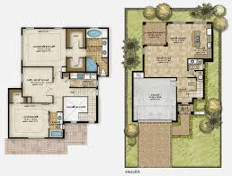 2 story floor plan residential 2 storey house plan modern story plans double in south