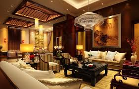 Asian Home Decor Ideas Divine Asian Living Room Interior Design Idea With Sofa And Arm