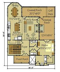 cottage house floor plans small house plans cottage open living floor plan main floor master