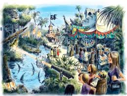 Map Of Disney World Parks Walt Disney World Announces U0027a Pirate U0027s Adventure Treasures Of