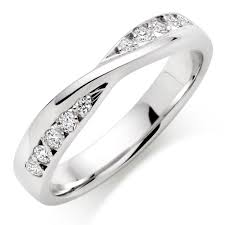 diamond wedding rings 9ct white gold diamond wedding ring 0007277 beaverbrooks the