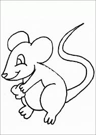 coloring good coloring mouse pages free