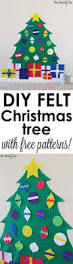 free felt patterns for christmas ornaments christmas pinterest