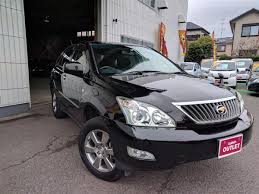 harrier lexus 2007 2012 toyota harrier 240g l pack alcantara used car for sale at