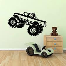 aliexpress buy monster truck car suv wall sticker kids