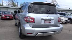 nissan armada tailgate handle used one owner 2017 nissan armada sv chicago il western ave nissan