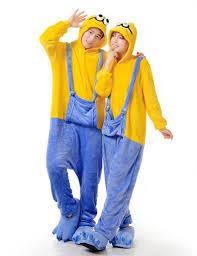 Minion Womens Halloween Costume Aliexpress Buy Centuryestar Minion Pajamas Onesie Anime