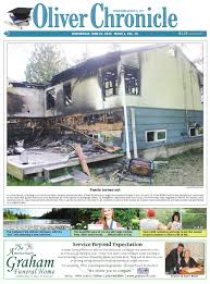 online edition june 22 2011 by oliver chronicle issuu