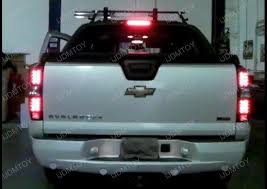 2011 chevy silverado smoked tail lights 07 11 chevrolet avalanche black housing smoke lens led tail lights