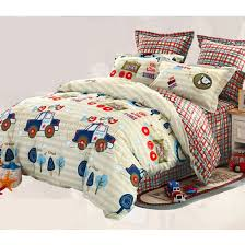 cotton cute twin and full size kids car bedding sets ogtbd15012010305 6 jpg