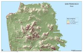 San Francisco Planning Map by Interesting Maps Of San Francisco Infrastructure Telstar Logistics