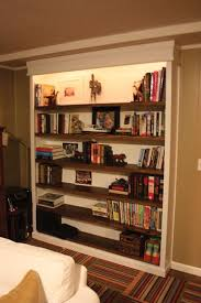 recessed book case plans built in book shelves twin oaks
