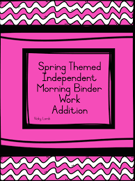spring themed worksheet bundle teacha