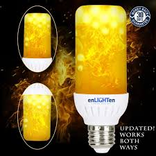 why led light bulbs flicker flame effect led light bulb updated downward and upward fire