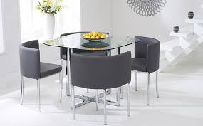 Frosted Glass Dining Table And Chairs Emejing Glass Dining Room Set Images New House Design 2018