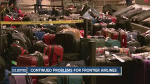 continued problems for frontier airlines youtube