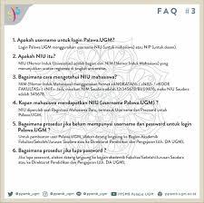 Palawa Ugm Ppsmb Palapa Ugm On Faq 3 Informasi Akun Palawa
