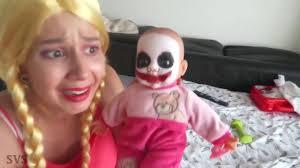 ugly baby vs colored balls pit bath w spiderman vs joker candy