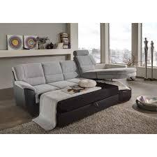 couch schwarz grau ecksofa mangali in grau schwarz mit bettfunktion wohnen de