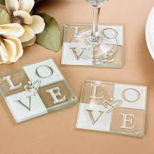 cheap wedding party favors glass coasters cheap favors favors and wedding