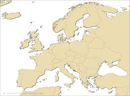 Simple Blank World Map by Europe Blank Map