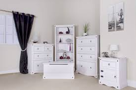 Bedroom Furniture Sacramento by Corona White Pine 2 Door Wardrobe Corona Whitewash Furniture