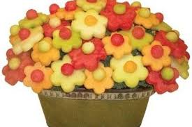 edible fruit bouquet delivery fruit flower arrangements ferns flowers world
