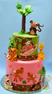 jungle theme for baby shower cake cakecentral com