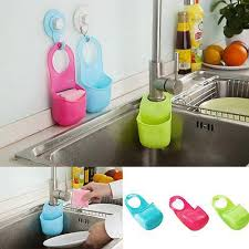 kitchen cabinet sponge holder new folding silicone hanging sponge holder bag kitchen sink bathroom