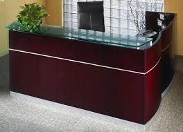Office Furniture Reception Desks Discount Office Furniture Mayline Napoli Reception Desk Nrslbf