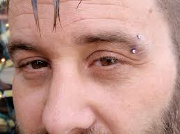eyebrow piercing information care healing price