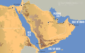 middle east map gulf of oman snorkeling sea the best snorkeling spots of sea