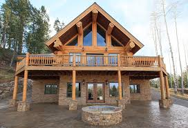 Log Home Styles Canyon Rim Summit Log U0026 Timber Homes