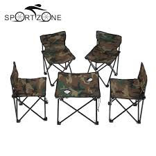 Fold Up Dining Table And Chairs Online Get Cheap Folding Camping Table Chairs Aliexpress Com