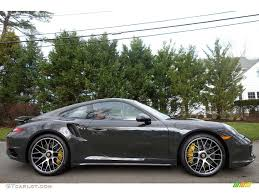 porsche slate grey 2016 slate grey paint to sample porsche 911 turbo s coupe