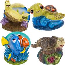 disney aquarium ornament sets