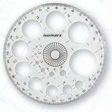 isomars circle modern master template 360 includes beveled edges