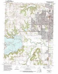 Ks Map Lawrence West Topographic Map Ks Usgs Topo Quad 38095h3