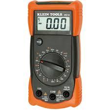 klein tools manual ranging multimeter mm100 the home depot