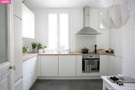 cuisine sol blanc gres cerame plan de travail cuisine 10 carrelage m233tro blanc