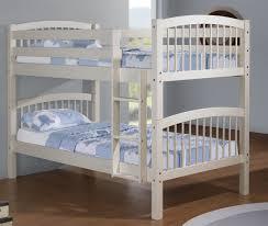 linon twin size convertible bunk bed white bj u0027s wholesale club